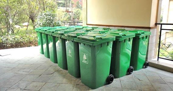 垃圾桶加工材料