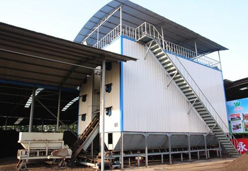 浙江塔式重力翻板污泥堆肥设备