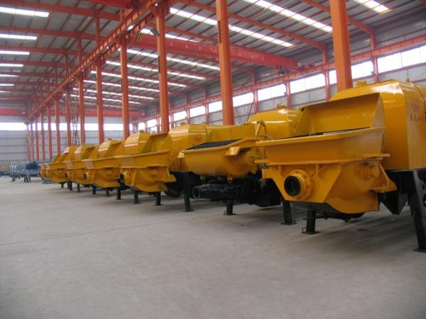 秦沃山河输送泵
