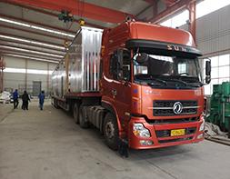 江苏污水处理一体化设备发货现场