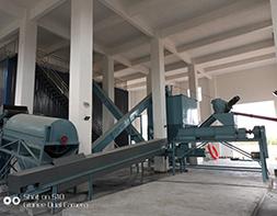 陕西甘肃某污水处理厂施工现场