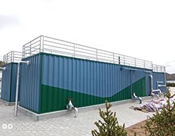 江苏污水处理一体化设备安装成品