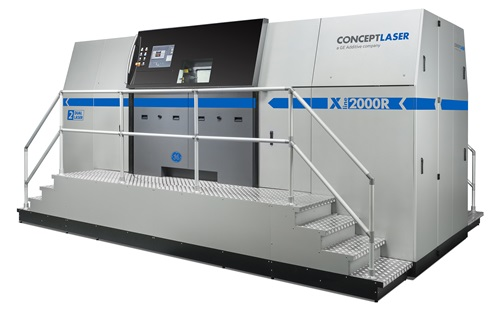 德国Concept Laser ®  X LINE 2000R 金属3D打印机