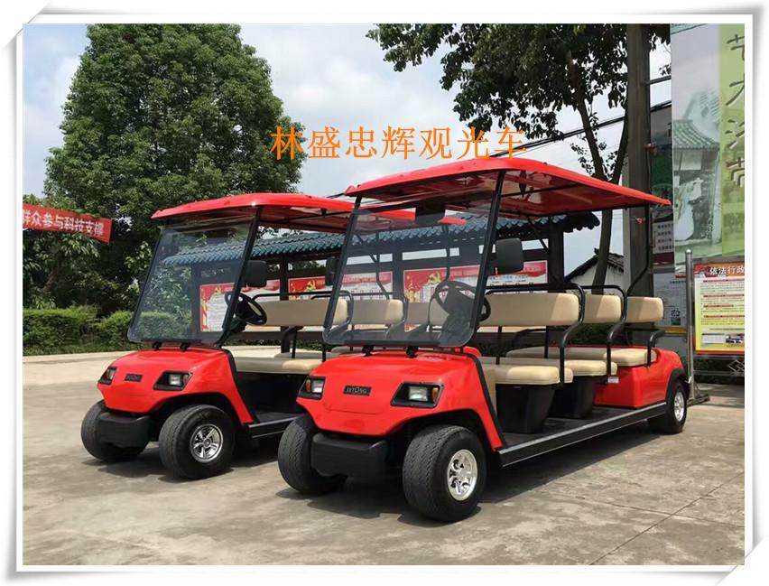 11座电动高尔夫观光车