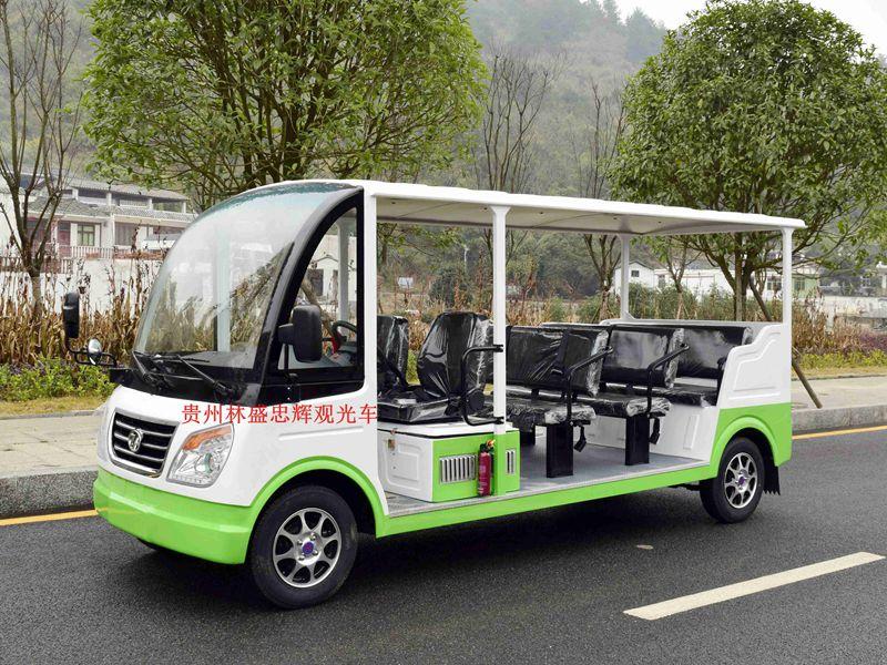 忠辉11座燃油观光车