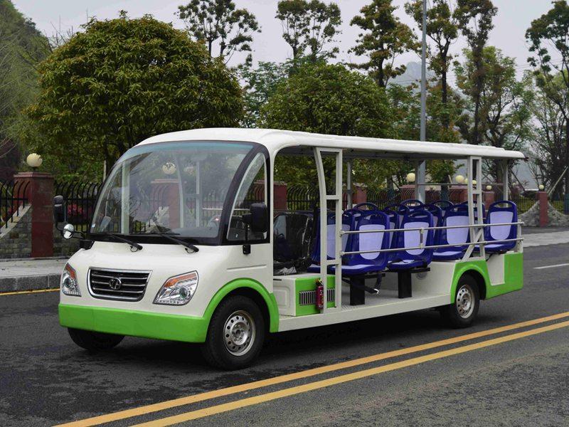 忠辉18座燃油观光车