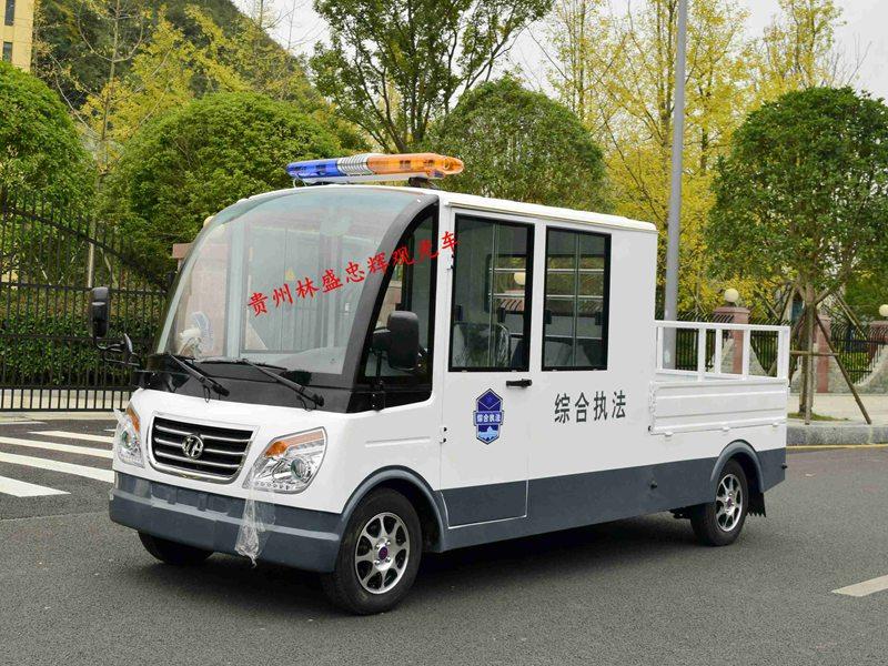 毕节忠辉城管用5座电动巡逻货车
