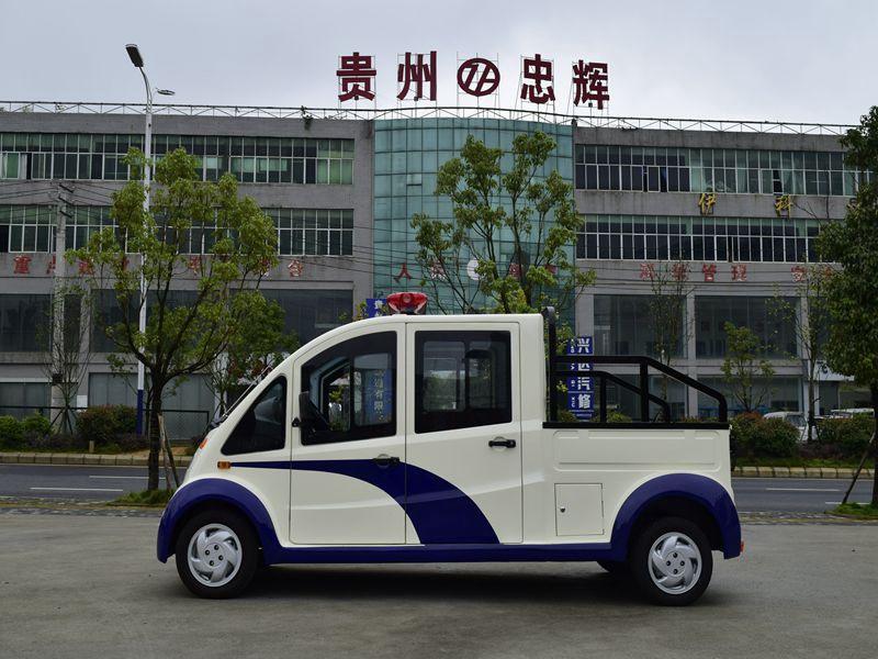 六盘水忠辉城管用5座电动巡逻货车