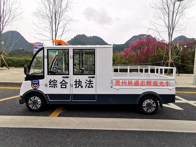 城管用5座电动巡逻货车