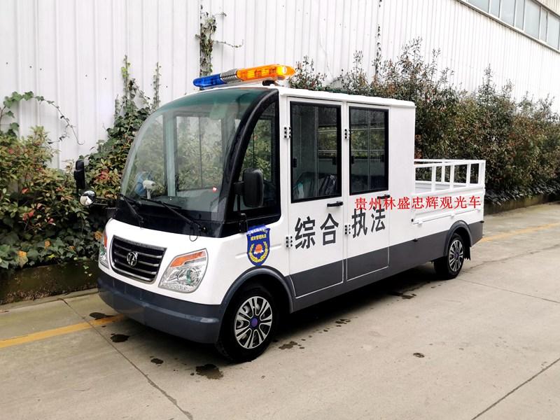 城管用5座燃油巡逻货车