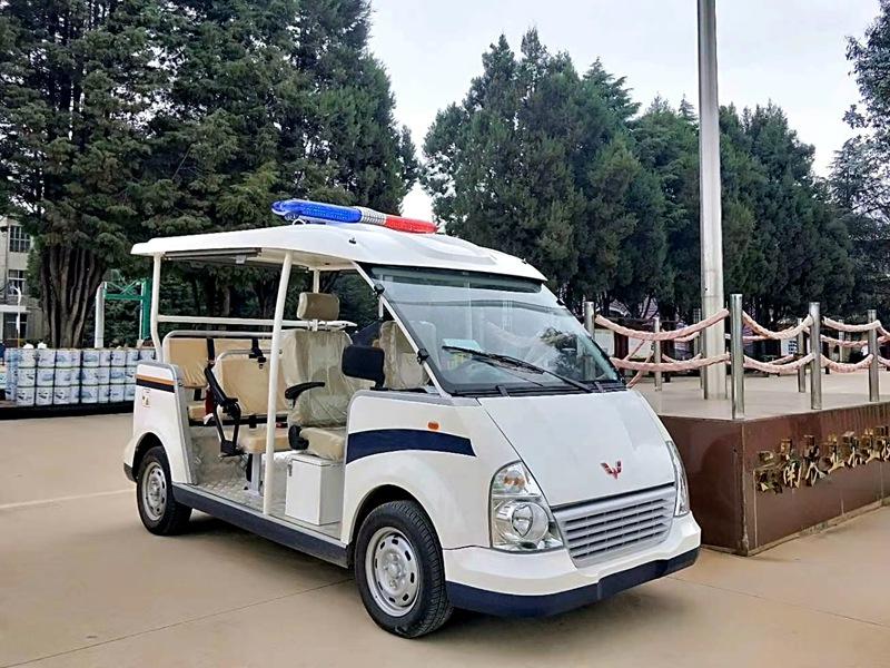 威威款5-8座电动巡逻车