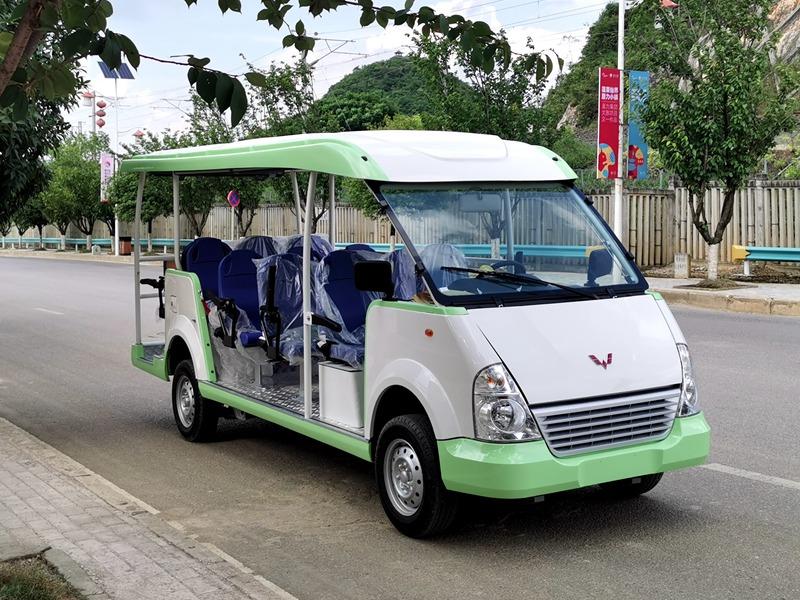 五菱威威14座电动观光车