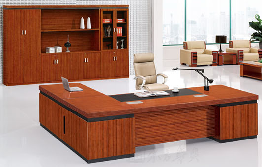 板式班台办公桌002