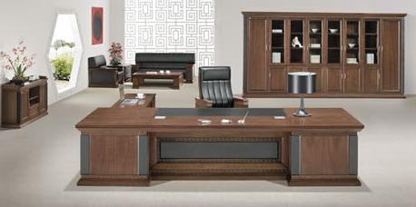 板式班台办公桌003