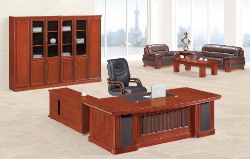 实木班台办公桌