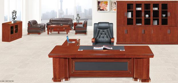 实木班台办公桌001