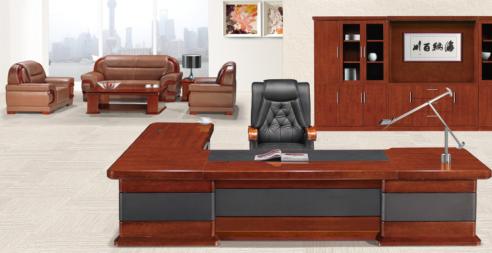 实木班台办公桌003