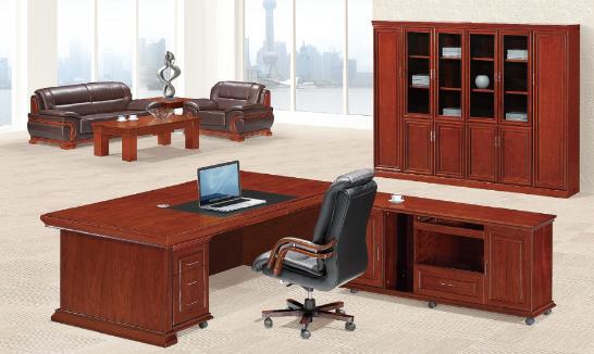 实木班台办公桌005