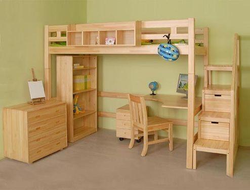 实木学生公寓床