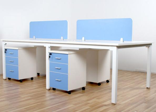 办公家具屏风工位培训桌