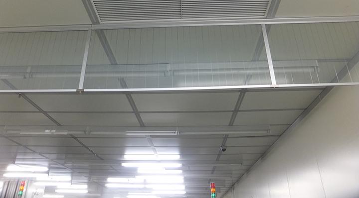 玻璃型挡烟垂壁