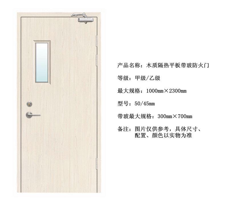 郑州木质防火门安装