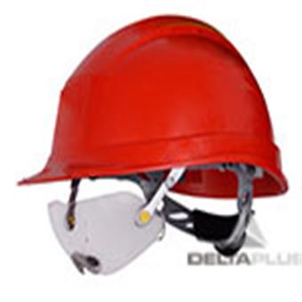 新型安全帽组合使用防护眼镜