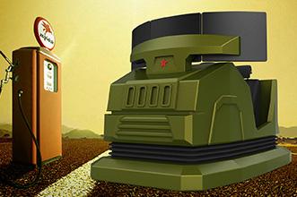 南京军区模拟驾驶器