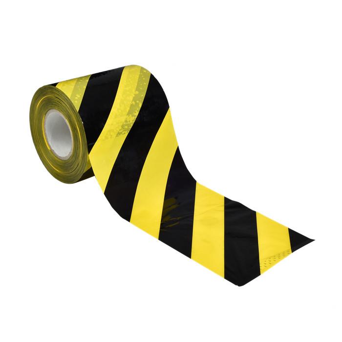 成都黑黄斑马胶带