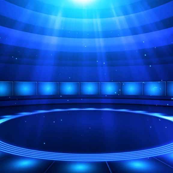 旋转升降舞台搭建