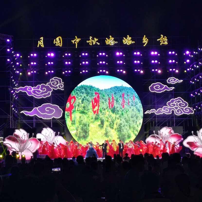 庆典舞台搭建规格
