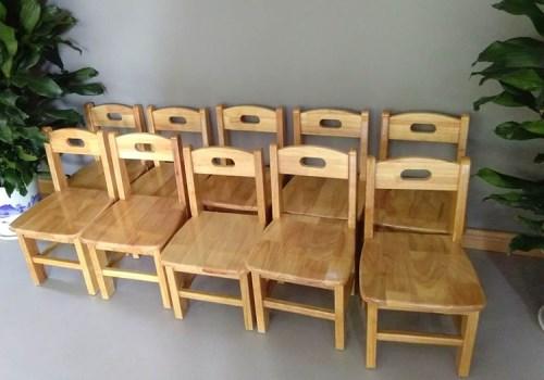 湖北实木幼儿园桌椅价格