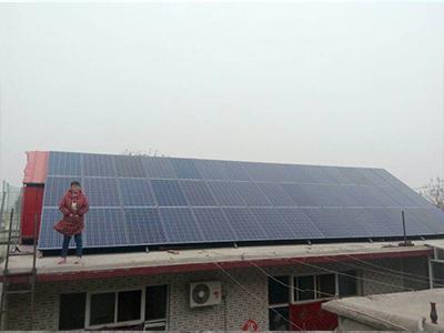 石家庄屋顶太阳能发电系统