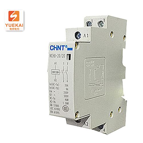 家用交流接触器NCH8-20 20侧面