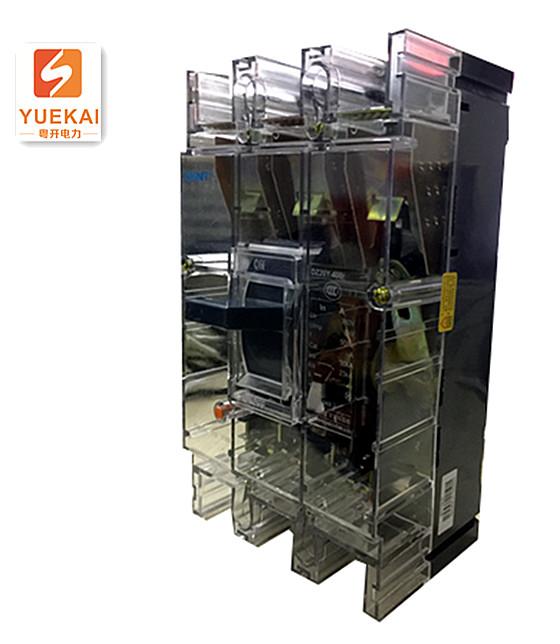 正泰透明塑壳断路器 DZ20Y-400 3300T/400A 侧面