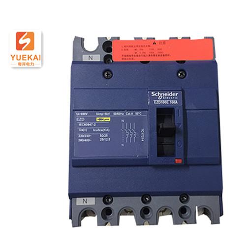 施耐德 EZD100E4100N 塑壳断路器