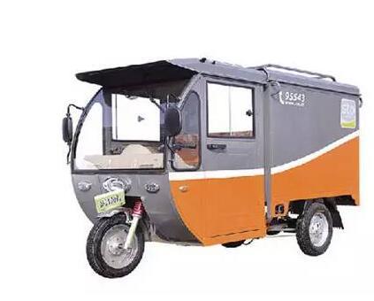 快递专用敞篷三轮车