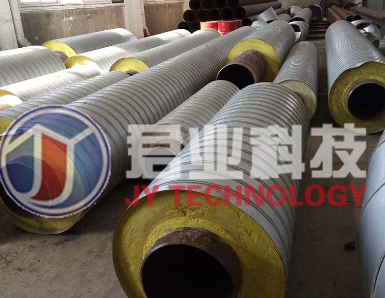 复合蒸汽架空保温管