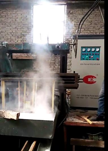 高频 中频齿轮淬火感应加热炉