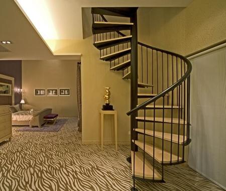 室内旋转楼梯定制