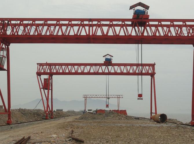 高速公路架桥机之宁德核电站80t门吊