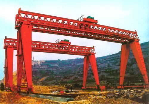 龙门吊公司之为路桥一公司提供的龙门吊