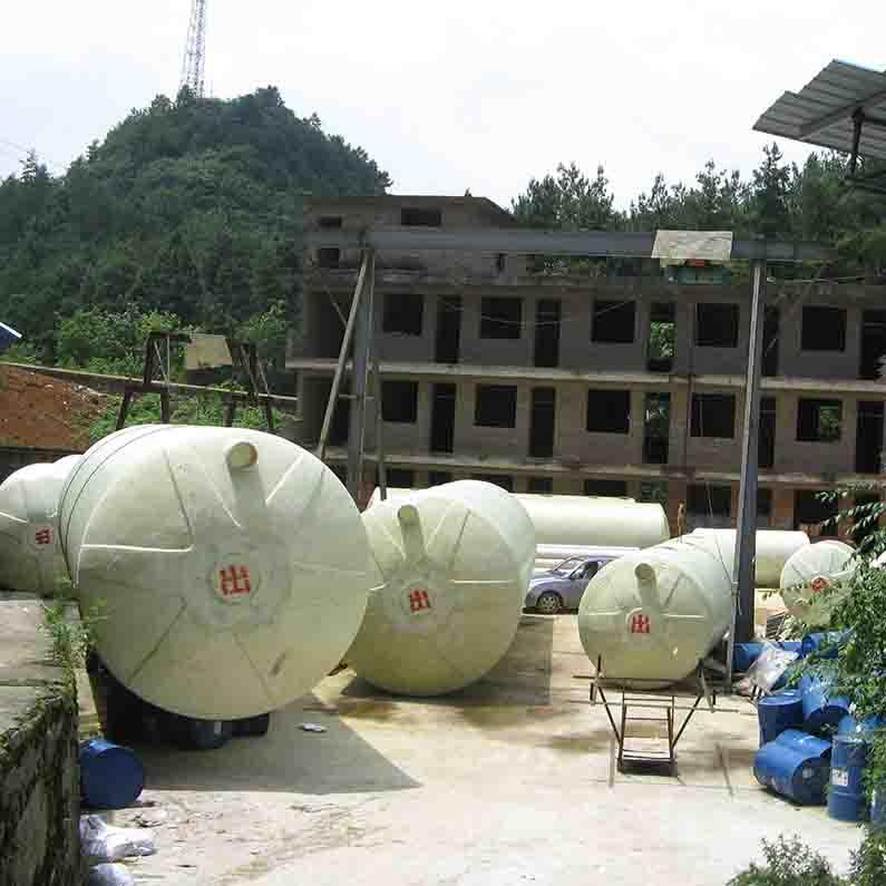 玻璃钢化粪池结构