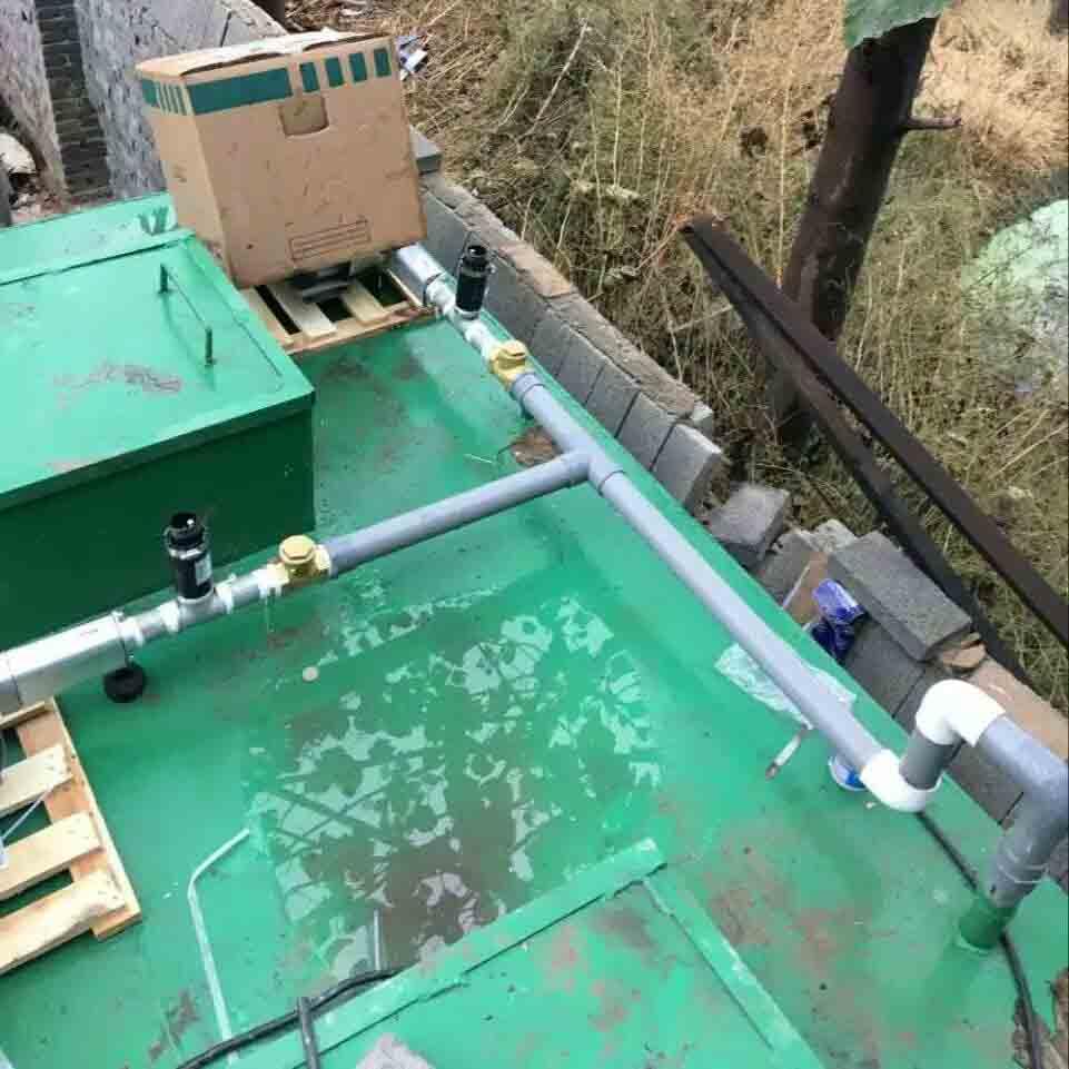 地埋式污水处理工艺