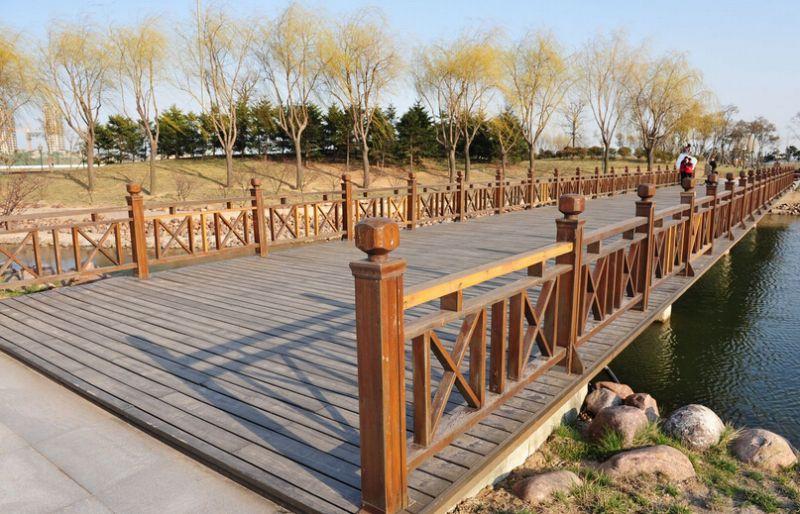 防腐木桥梁