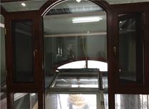 3D刨花断桥铝门窗
