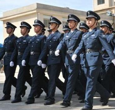 重庆保安公司队列