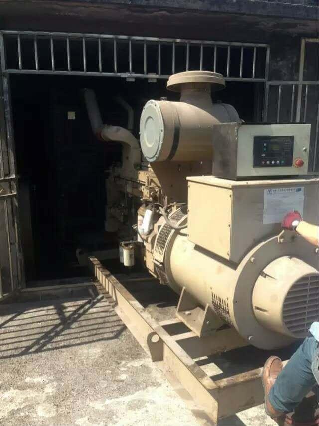 华岩看守所发电机维修