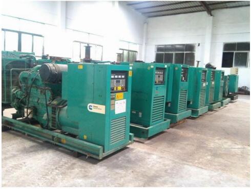 柴油发电机组回收