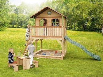 儿童户外木屋滑滑梯